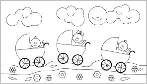 Kleurplaat Thema Baby Broertje Of Zusje
