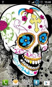 y skull wallpapers for android by daglycat appszoom