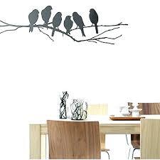 bird wall art flying decoration decor stencil living walls decals birds gossip girl