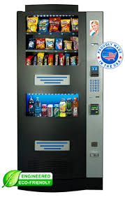 Snack Vending Machines With Card Reader