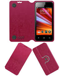 Celkon A87 Flip Cover by ACM - Pink ...