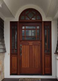 modern wood entry doors with glass