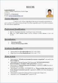 Career Objectives Samples Resume Template Bw Formal Think Down ...