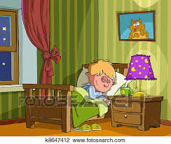 boys bedroom clipart. Exellent Bedroom Clipart  Childrens Bedroom Fotosearch Search Clip Art Illustration  Murals Drawings And Inside Boys Bedroom C