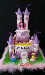 Castle Cake For Damellys 1st Birthday Jocakes