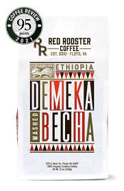 A delightful cup of natural processed peruvian coffee that boasts hints of blueberry, peach and guava with a silky mouthfeel and rose aroma. Coffees Red Rooster Coffee