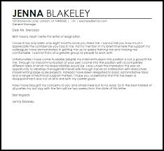not a good fit resignation letter