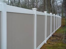 vinyl fence colors. Vinyl Fence Colors