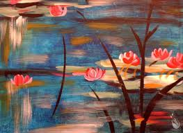 how to paint monet s lilies