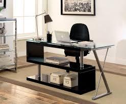 high office desk. Elona High Gloss Convertible Office Desk B