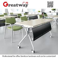 folding table as computer desk office meeting training folding table with wheels computer desk school computer