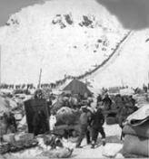 "knowledge or instinct jack london s ""to build a fire"" edsitement bound for the klondike gold fields chilkoot pass alaska"