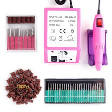 <b>Electric Nail Drill Apparatus</b> Machine for Manicure Cuticle Gel ...