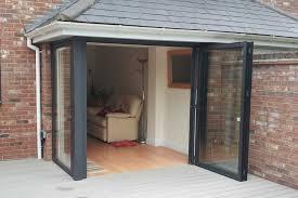 sunflex sf55 bi folding door two panel opening