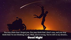 Love Couple Wishes Good Night With Quotes Hd Wallpapers Desktop