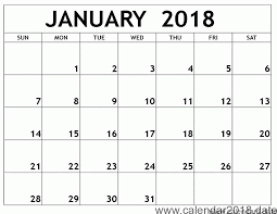 january 2018 calendar free calendars templates 2018 free printable calendar january 2018 free