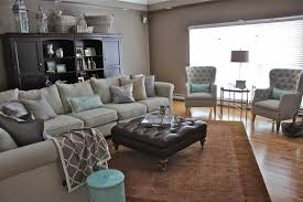 grey and brown furniture. Furniture: Brown Couch Grey Walls Carpet Trends Also Awesome Ideas Accents And Furniture