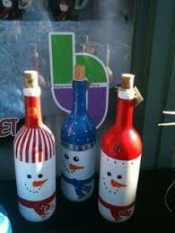 80 Homemade Wine Bottle Crafts  Christmas Wine Bottles Wine Bottle Christmas Crafts