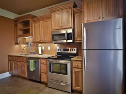 Stain Oak Kitchen Cabinets Stained Wood Kitchen Cabinets