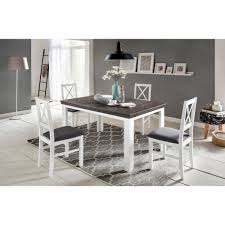 Lavente Tischgruppe 5 Teilig Esstisch 140x90 Ausziehbar 4