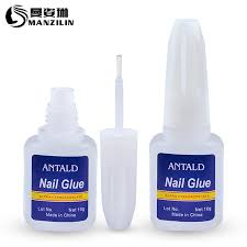 10g nail glue foils rhinestone decoration clear adhesive gel varnish fast dry with brush for diy uv led manicure tool nails art shellac nails from justinbk