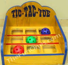 Wooden Carnival Games School Carnival in Aurora Wood Tic Tac Toe Carnival Game 18