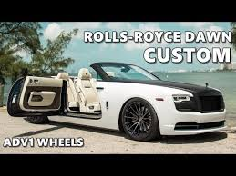 Custom Rolls Royce Dawn Two Tone Wrap Youtube