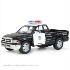 China Police Pickup Truck Black/White Toy Car Boys Gift - China Kids ...