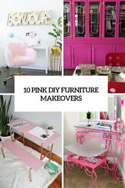 diy furniture makeovers. 10 Pink Diy Furniture Makeovers Cover