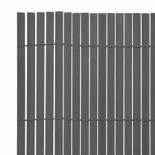 Tidyard <b>Double</b>-<b>Sided Garden Fence PVC</b> Screening Fence Privacy ...