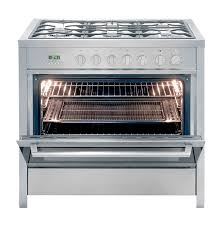 kelvinator gas electric stove s steel model kc9650tle