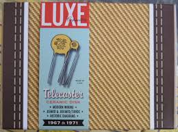 luxe 1967 1971 telecaster 05mf 001mf orange dime capacitors