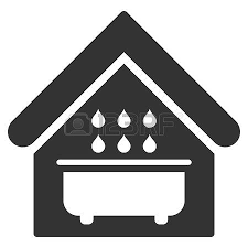 Bathroom Icon Vector Style Is Flat Iconic Symbol Gray Color Amazing Bathroom Sign Vector Style