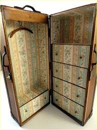 wardrobes steamer wardrobe trunk antique fresh wooden old vintage new best storage images on of