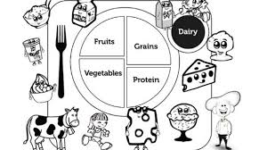 Small Picture Nutrition Coloring Sheets Coloring Page We Are All Magical