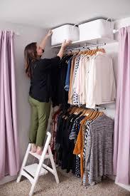 Diy Closet System Creating An Open Closet System Decor Pinterest Open Closets