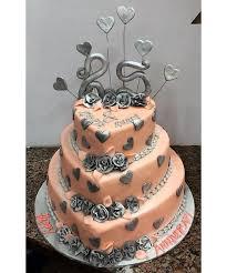 25th Anniversary Cake Chillbakes