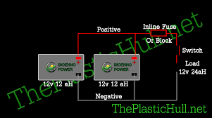 how to connect 12v batteries in parallel the plastic hull parallel battery wiring diagram