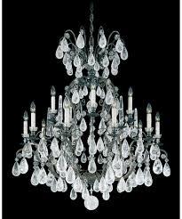 schonbek 2473 versailles rock crystal 39 inch wide 16 light chandelier pics