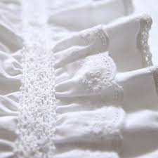 lace duvet covers the duvets white ruffle romantic lovely bedding 4pcsset glamour king sets