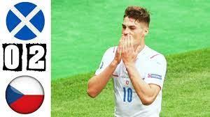 ไฮไลท์ฟุตบอลยูโร 2020 สกอตแลนด์ 0-2 สาธารณรัฐเช็ก - YouTube