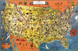 usa tourist map