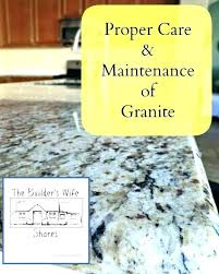 what is the best way to clean granite countertops cleaning granite clean granite in kitchen care