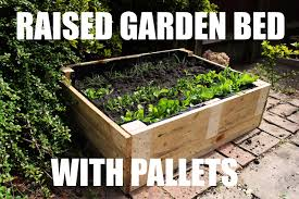 how to make raised garden beds. How To Make A Raised Garden Bed For Free Using Pallets Beds
