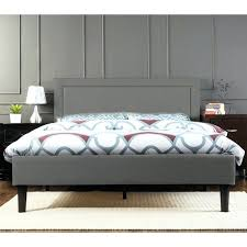white leather platform bed king black cal by faux free home improvement