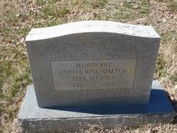 Bonita King Dalton (1924-1985) - Find A Grave Memorial
