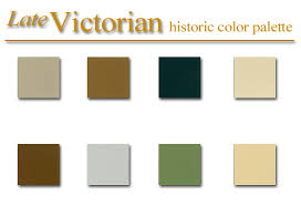 Historic color palette - Late Victorian Style - artSparx color palette  recipies, techniques and tips