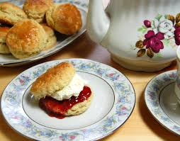 Image result for small images scones jam and cream