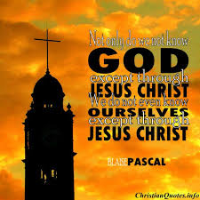 Christian Biblical Quotes Best of Blaise Pascal Quote Jesus Christ ChristianQuotes