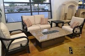 patio furniture floor model closeout